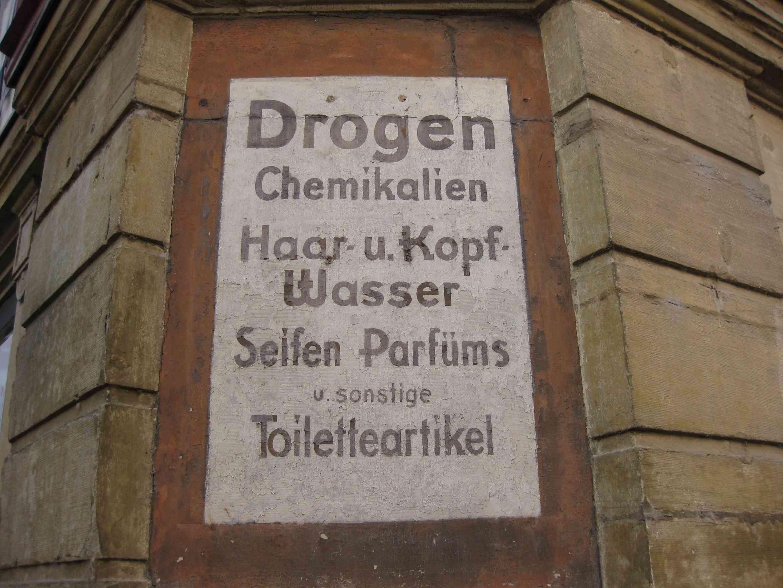 Ehemalige Drogenhandlung in Besigheim, Deutschland