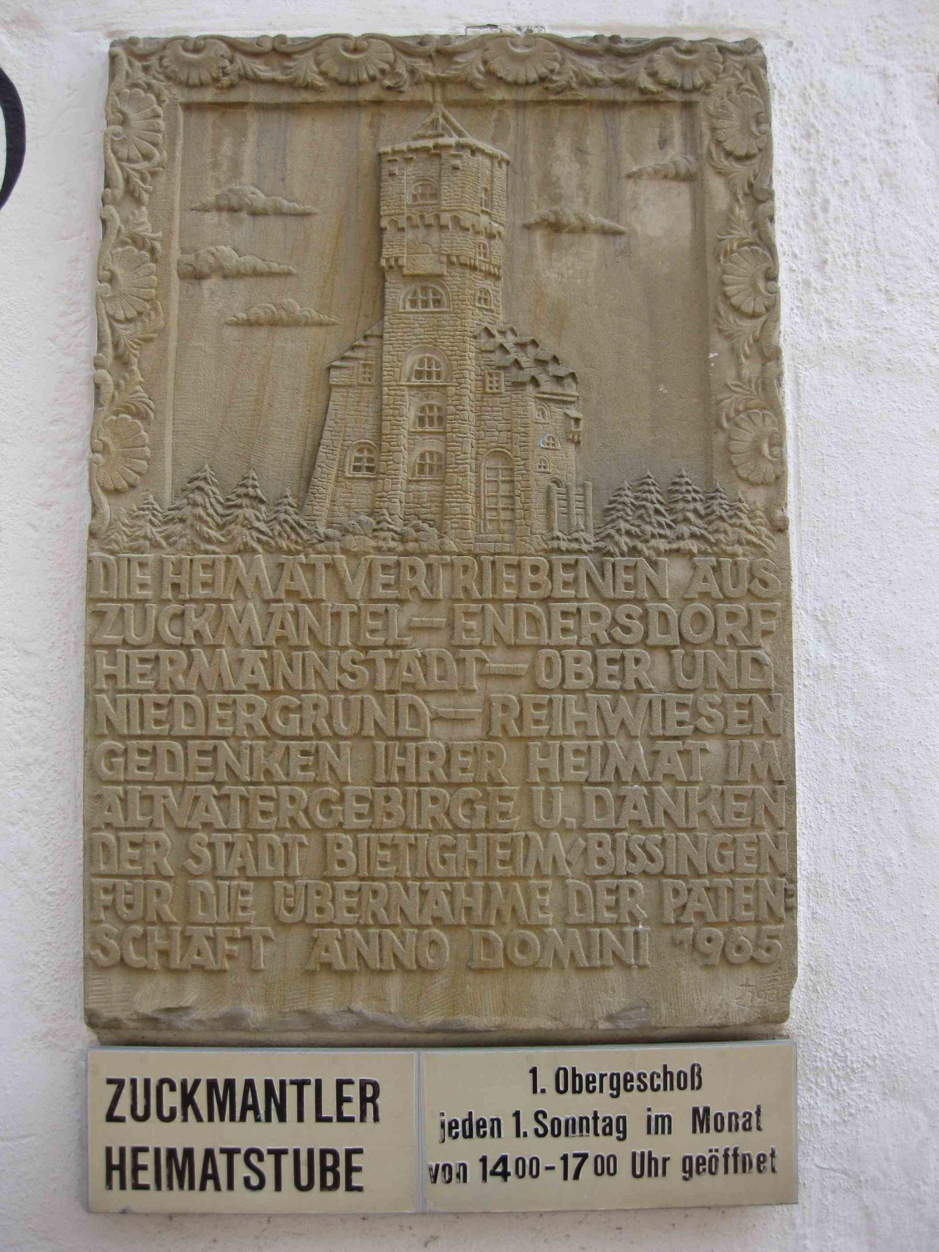 Bietigheim Zuckmantler Heimatstube