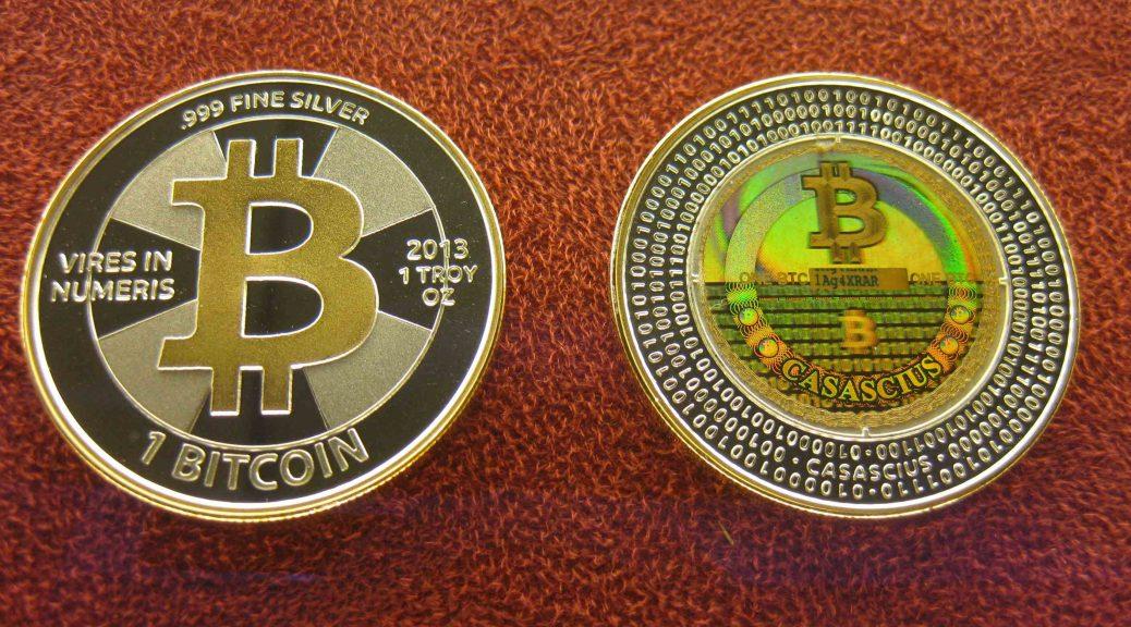 Bitcoins im Moneymuseum Zürich