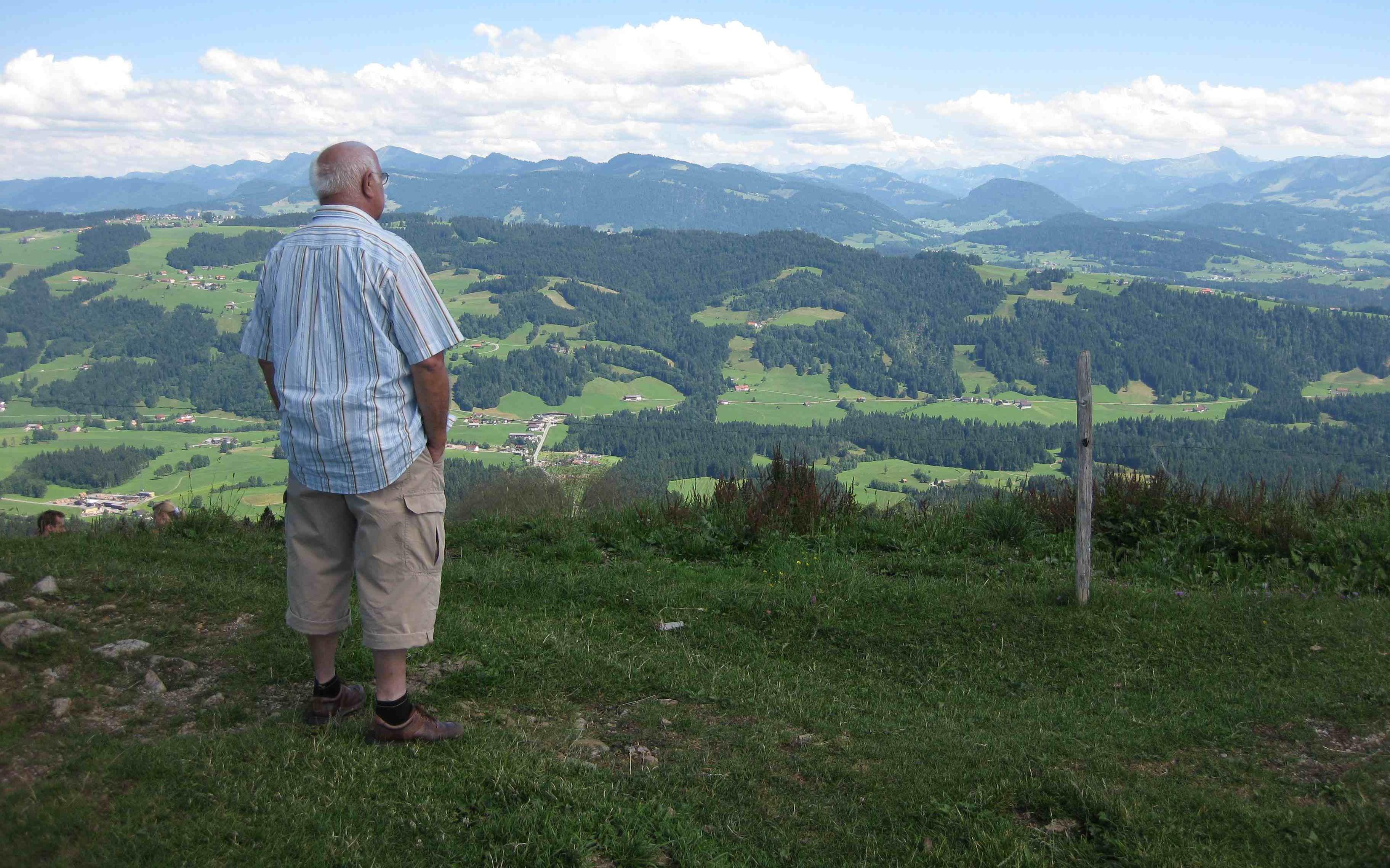 Bregenzer Wald, Vorarlberg, Austria