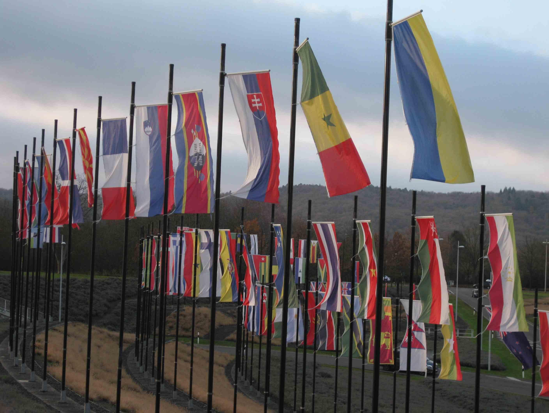 Flaggen in Bonn