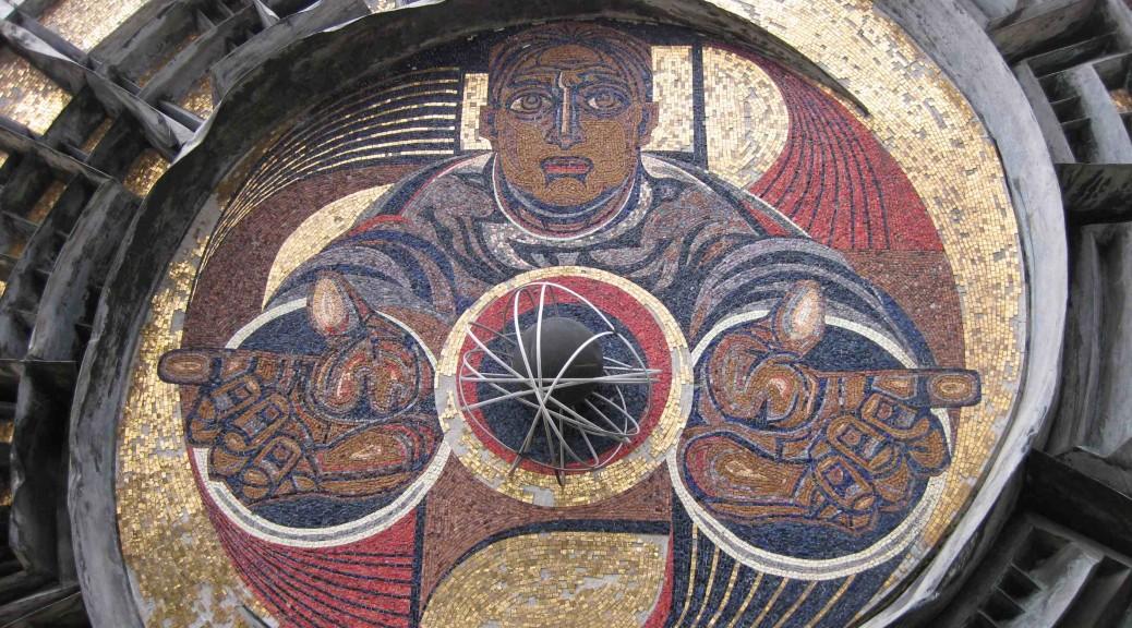 Mural in Karlovo, Bulgaria