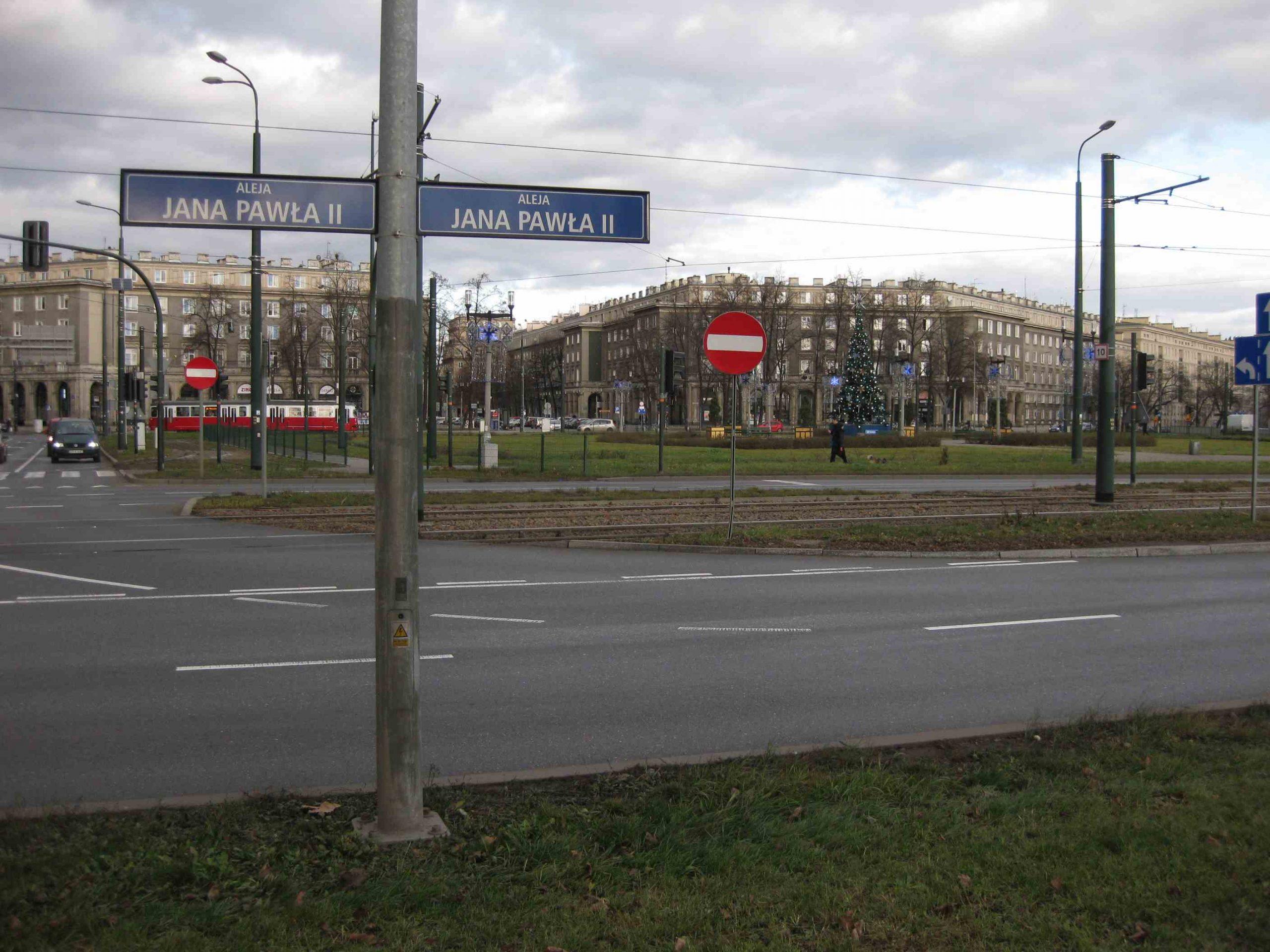 Krakau Nowa Huta Reagan Zentralplatz