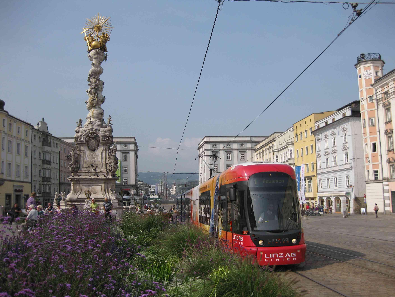 Tram in Linz