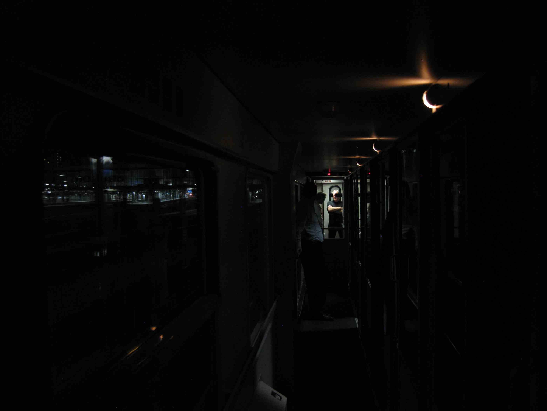 Unterwegs im Nachtzug