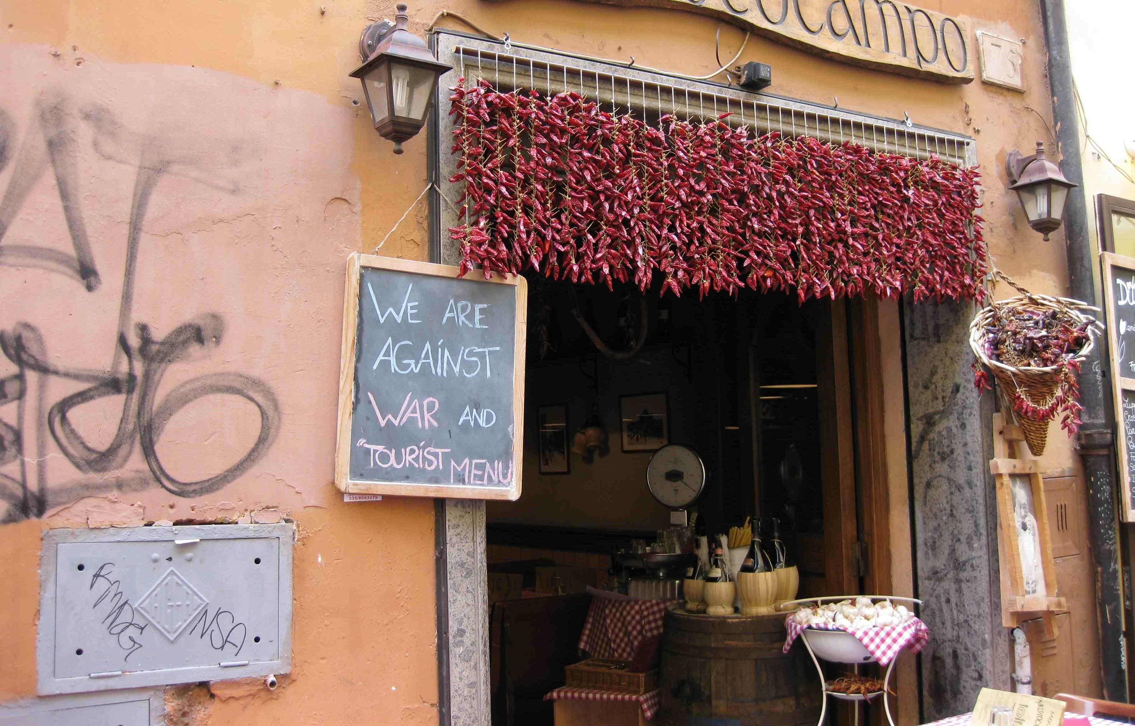 """Restaurant """"Aristocampo"""" in Rome"""