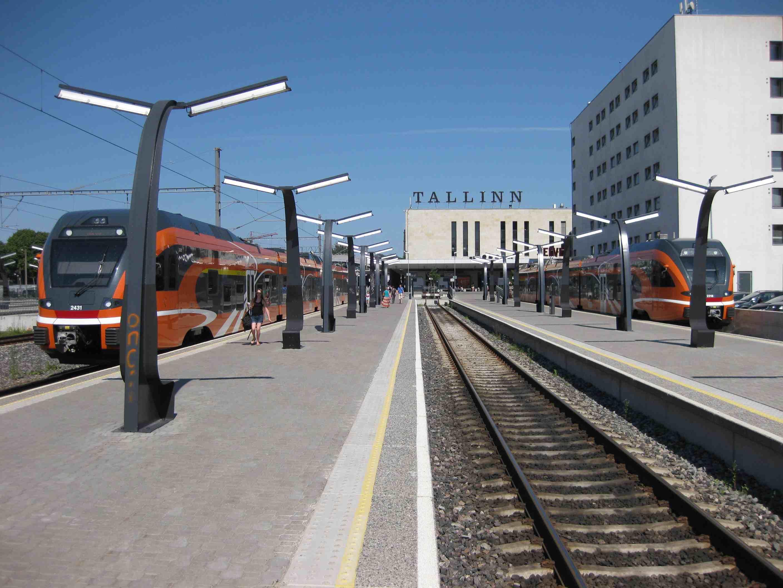 Tallinns Bahnhof