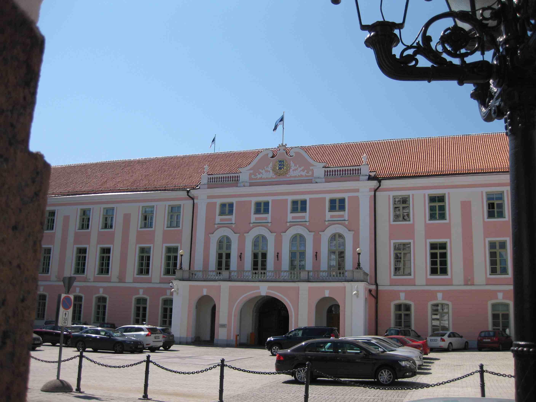 Estlands Parlament in Tallinn