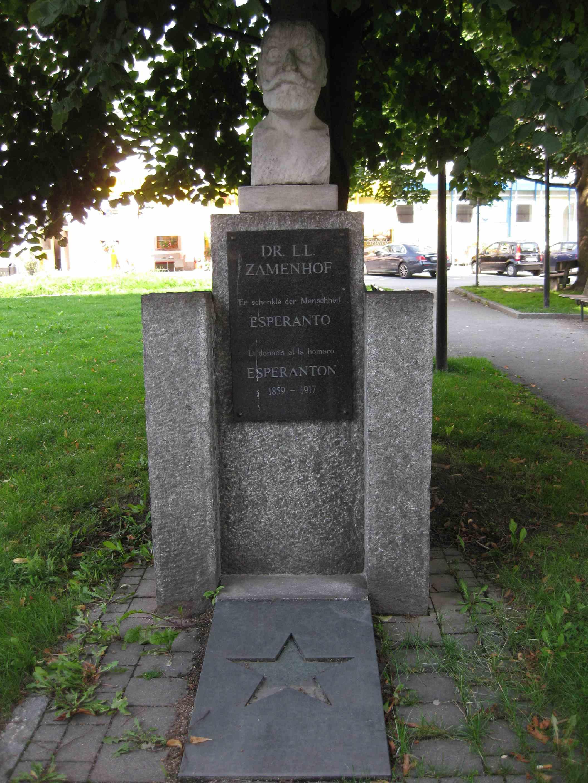 Zamenhof-Denkmal in Wörgl