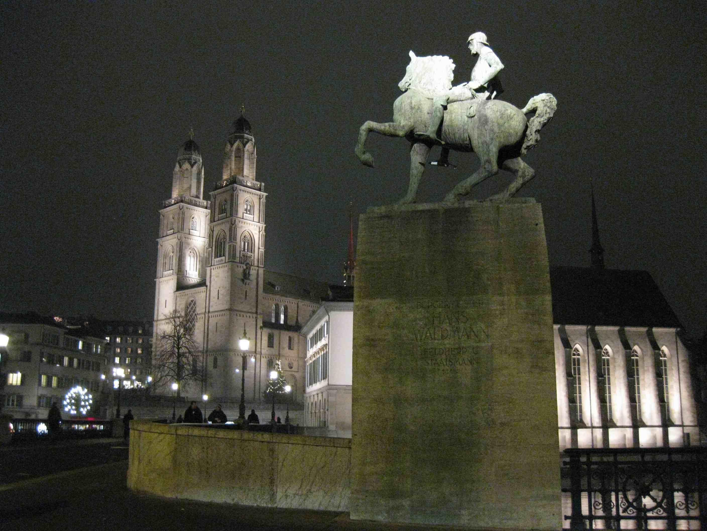 Grossmuenster cathedral in Zurich